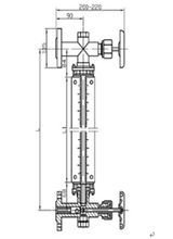 玻璃管液位计