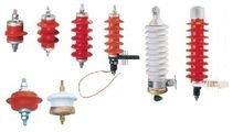 避雷器的类型主要有保护间隙,阀型避雷器和氧化锌避雷器.图片