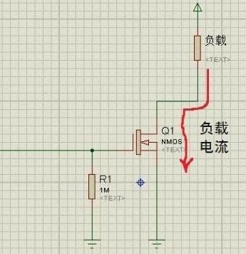 当然mos管做开关使用的电路形式比较多了. 图2 nmos管的开路漏极电路
