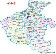 河南地�_河南省地图
