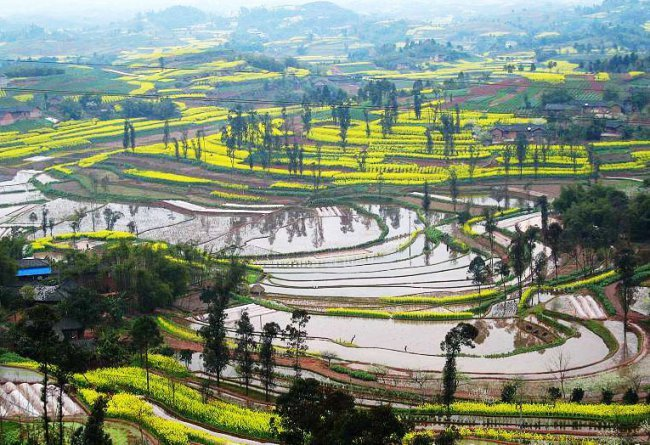 自贡尖山自然风景区