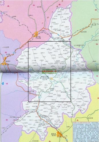 喀左县地图