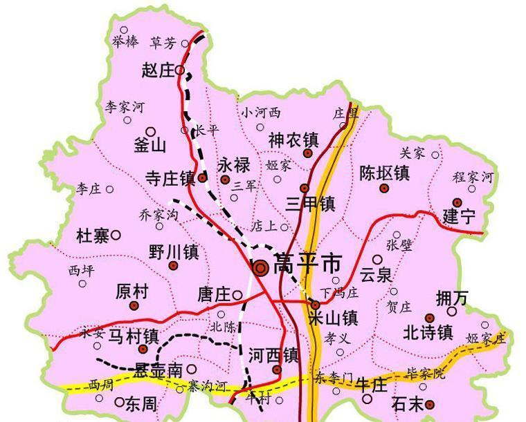封丘县 陈固镇地图