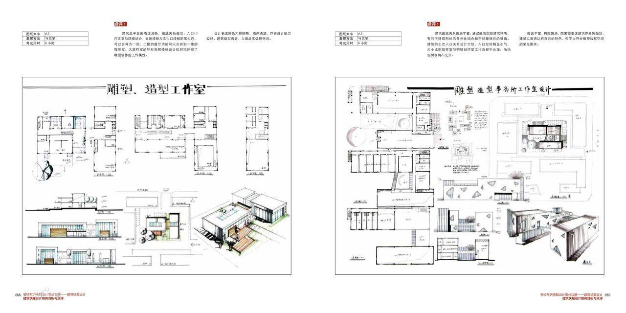 名校考研快题设计高分攻略--建筑快题设计