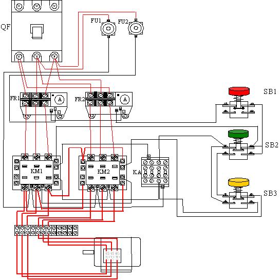 2相电机接线图