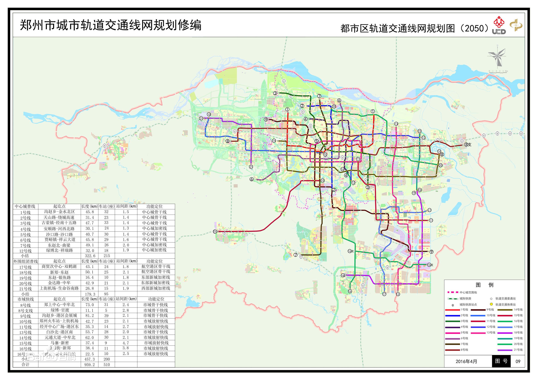 郑州最新规划图