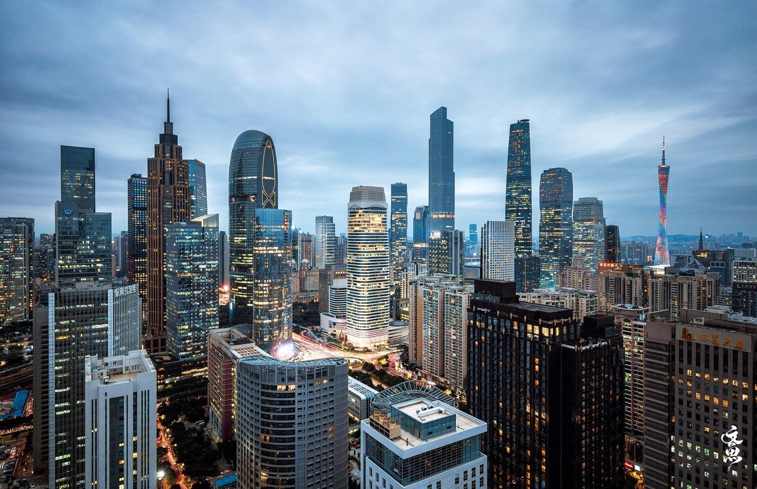 中国城市化代表城市-广州