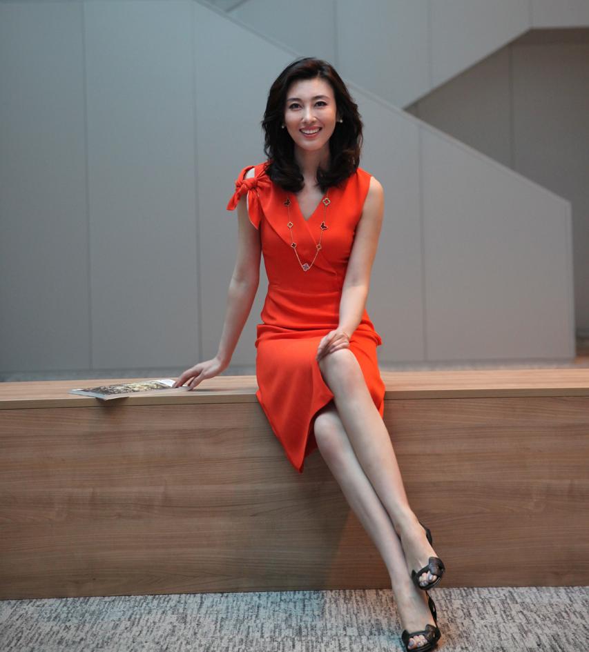 中央电视台女主播——李红