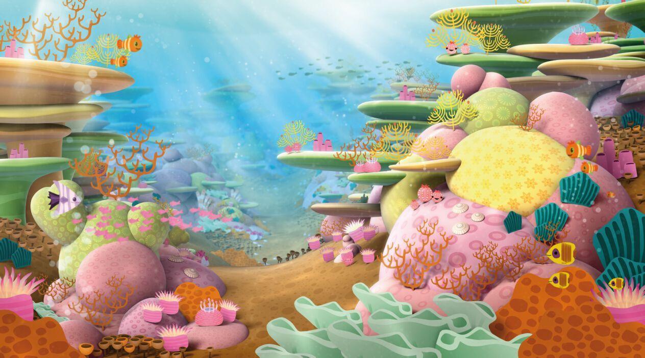 公司成立之后相继推进《彼得兔》的动画系列片的制作,并开始了《海底