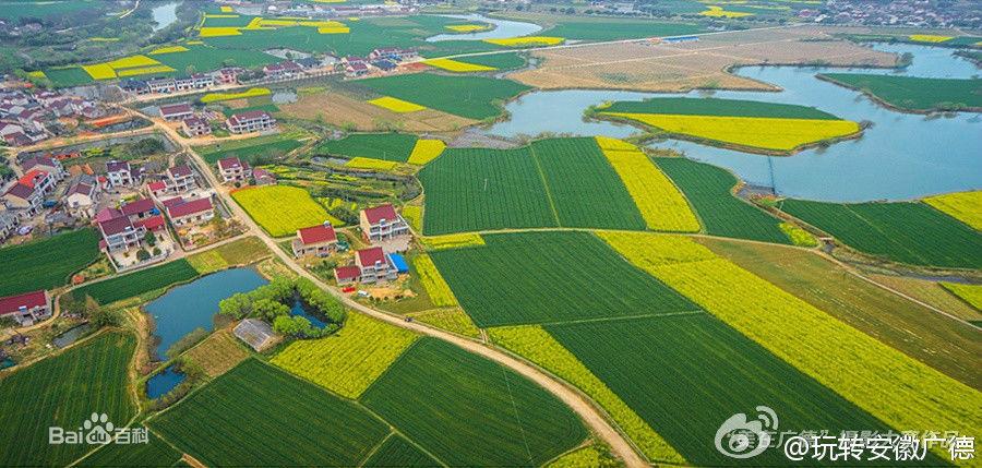 卢湖风景区位于广德县城南郊,皖浙苏三省交汇处.
