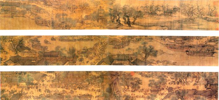 中国十大名画---清明上河图