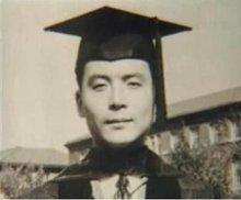 邓稼先在获得博士学位后的照片