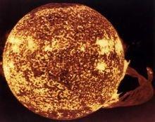 太陽黑子磁場