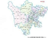 (图)四川地区图