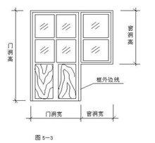 门联窗设计图