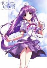 《伊里野的天空》部分OVA海报