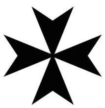 马耳他十字图
