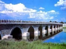 古代卢沟桥与现代卢沟桥对比图片