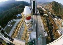 2010年1月16日下午,星箭在发射前进行测试