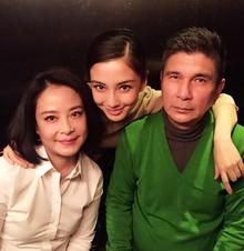 杨颖与父母