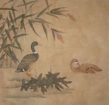 绘画《鸭子》 吴玉阳作