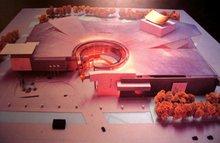 汉斯·霍莱因设计的中国国家大剧院方案