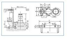 WQ型潜水排污泵安装尺寸图