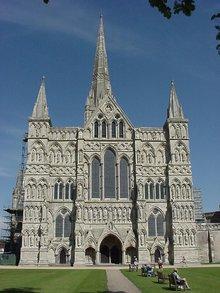 索尔兹伯里主教堂