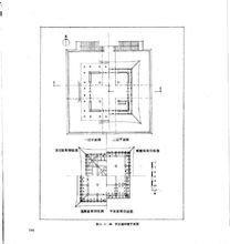 西安钟楼平面图