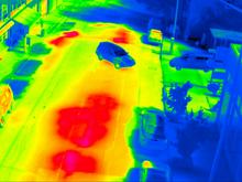 城市供热管线泄漏