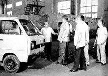 1984年,制造出第一辆微型汽车