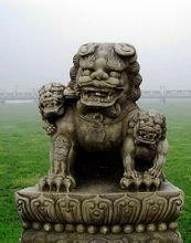 卢沟桥石狮