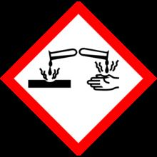 氢氧化钠具有腐蚀性