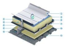 金屬屋面系統圖片