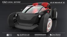 3D打印技术打印一辆车需时44小时