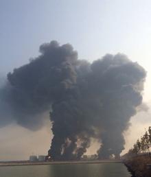黄潍输油管线_11·22青岛黄岛输油管爆炸事件_360百科