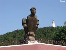 苍溪红军渡景区雕塑