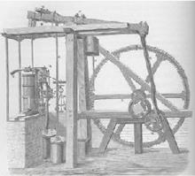 瓦特发明的蒸汽机