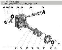 铝合金减速机轴输入型分解图