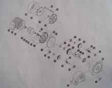 齿轮减速电机结构图