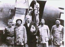 王若飞与毛泽东、周恩来、张治中