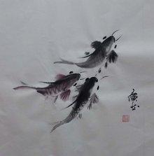 王广然创作的中国风水禅意画《向往》