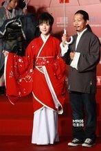 词人方文山和演员徐娇穿汉服出席相关活动