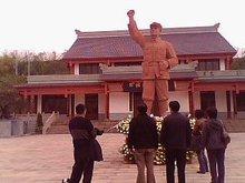四川蓬溪县旷继勋将军纪念馆(清明节)