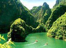 龙庆峡优美景色
