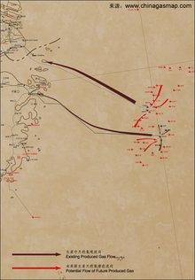 东海海底天然气管道