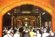 北京牛街清真寺礼拜殿的隔断装饰
