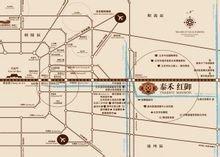 项目交通位置图