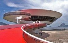 奥斯卡·尼迈耶设计的尼泰罗伊当代艺术馆