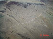 砧子山墓葬群-航拍图